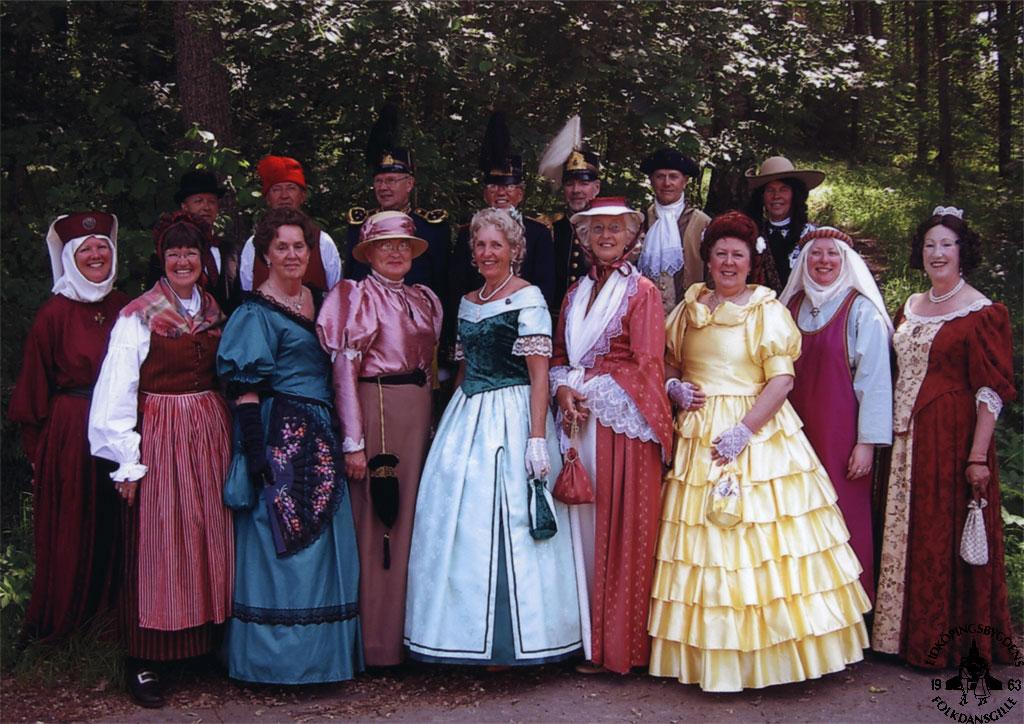 1800 tals kläder mönster